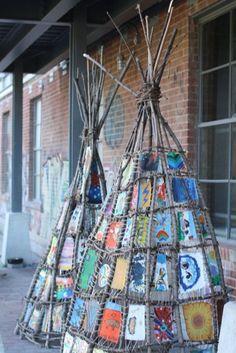 Art Tipi Art Source by .Tipi Art Source by . Art For Kids, Crafts For Kids, Arts And Crafts, Art Crafts, Diy Art, Land Art, Resurrection Fern, Nature Crafts, Outdoor Art