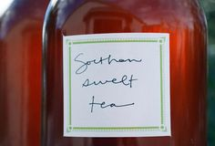 The house wine of the South, sweet tea manages to come together effortlessly, slake your thirst, and quell any worries with ease and grace.