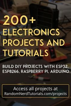 Welcome to our repository of electronics projects. We make electronics projects . - Diy Welcome to our repository of electronics projects. We make electronics projects with Arduino and Raspberry Pi related with Home Automation. Electronics Projects, Iot Projects, Electronic Circuit Projects, Kids Electronics, Electrical Projects, Electronic Engineering, Esp8266 Projects, Electrical Engineering, Best Arduino Projects