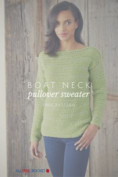 A lovely crochet sweater for late summer, free pattern