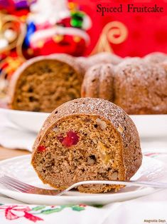 Spiced Fruitcake is a delightful combination of spice cake and ...