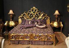 Royal Furniture, Victorian Furniture, Luxury Furniture, Bedroom Furniture, Furniture Design, Bedroom Decor, Escalier Art, Dreams Beds, Tuscan Design