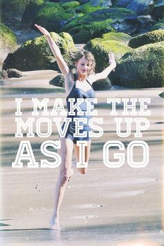 You just sang it in her voice. SHAKE IT OFF!!!