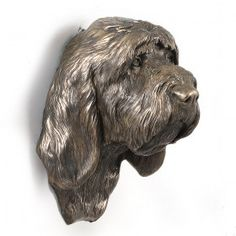 High class handmade product from group Figurines related dog breed Grand Basset Griffon VendéenGrand Basset Griffon Vendeen - hanging on the wall statue - Cold Cast Bronze Origin :Statue from ART-DOG collection. Art-Dog is Polish company making dogs statu Dog Lover Gifts, Dog Lovers, Best Artist, Dog Supplies, Concept Art, Lion Sculpture, Bronze, Statue, Woodcarving