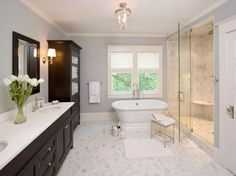 master bathroom ideas | Refreshing Bathrooms and Ergonomic Home Offices