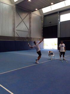Rafa Nadal 4 August ·     Aprovechando estos días para seguir entrenando, siempre con ganas y optimismo.  Training these days, always optimistic.