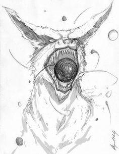 Kyuubi Fan Art This Is Amazing Naruto Drawings Sketch Sasuke Drawing