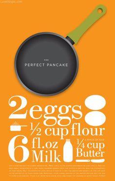 the perfect pancake recipe recipes pancakes ingredients instructions pancake recipe.