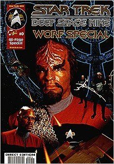 Star Trek Deep Space Nine - Worf Special #0 : Bonds of Honor (Malibu Comics)