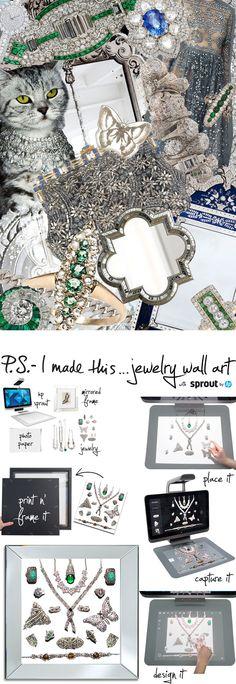 Jewelry Wall Art
