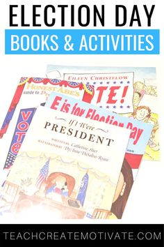 It's a special year because it's election year! In this post, I'm sharing what type of activities, books, and resources I use to teach my elementary students all about the election. Some of the ideas include flipbooks, vocabulary cards, comprehension cards, and more! This is a great way to teach social studies while incorporating cross-curricular activities. Don't forget to download the FREE resource I'm sharing!