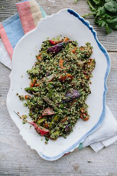 Spring Tabbouleh with Green Harissa via the year in food