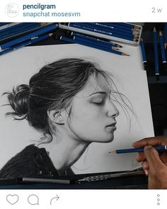 Beautiful drawing by pencilgram (on instagram)