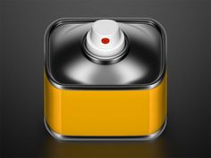 iOS Icons by Konstantin Datz, via Behance