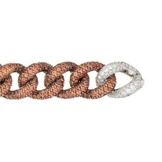 Salavetti 18K Gold Diamond Bracelet with Sapphire