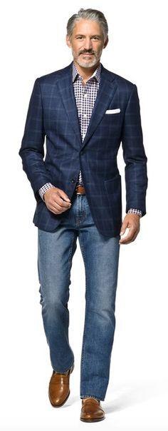 Sexy and stylish windowpane jacket!
