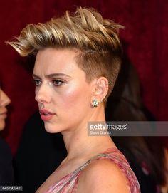 Scarlett Johansson arrives at the 89th Annual Academy Awards at Hollywood & Highland Center on February 26, 2017 in Hollywood, California.
