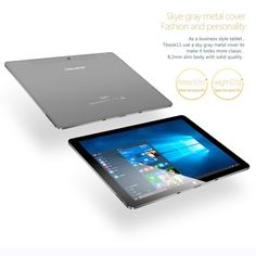 192.99$  Watch here  - TECLAST Tbook 11 Tablet PC 10.6inch IPS Full HD Screen Display 1920*1080px Intel Cherry Trai Atom X5-Z8300 Processor Windows 10 / Android 5.1 Dual Operation System 4GB LPDDR3+64GB eMMC 0.2MP Dual Cameras Built-in 7500mAh Battery Bluetooth 4.0 WiFi Mic Tablet Computer