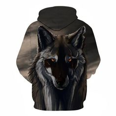 The Mythical Wolf Hoodie. Available at printeera.com