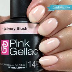194 Pink Gellac Ivory Blush