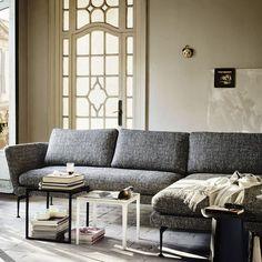 Sofá modular / moderno / de tela / de Antonio Citterio SUITA       vitra