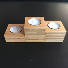 Plywood scraps #upcycled to tealight holders🕯😎 Inspiration: PyeongChang 2018 Winter Games🏆