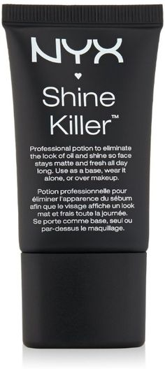 NYX Cosmetics Shine Killer, 0.67 Ounce Nyx Products, Beauty Junkie, Drink Sleeves