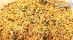 Farofa de Cenoura e bacon - Receitas Gourmet