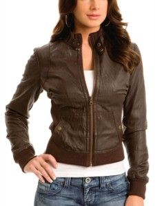 leather jacket for women - Google Search