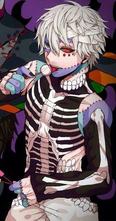Halloween Kaneki Ken ||| Tokyo Ghoul Fan Art