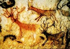 Altamira Cave-Art: Form and function. Ancient Art, Ancient History, Lascaux Cave Paintings, Cave Drawings, Skeleton Art, Art For Art Sake, Pictures To Paint, Stone Art, Pattern Art
