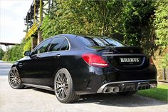 Mercedes-Benz C 63 S AMG by #Brabus  #mbhess #mbtuning