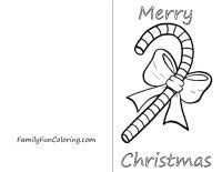 color these free printable christmas cards of elves santa wreaths bells and