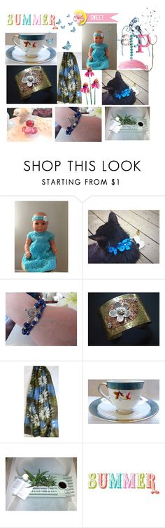 """""""Summer Sweet Gifts"""" by anna-recycle ❤ liked on Polyvore featuring Lazuli, modern, rustic and vintage"""