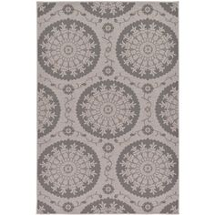 Gray 5' 3 x 8' 0 Outdoor Rug | Area Rugs | eSaleRugs ($99) ❤ liked on Polyvore featuring home, rugs, grey outdoor rug, gray area rug, grey rugs, grey area rug and gray outdoor rug