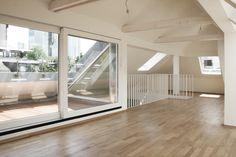 07/2012   Fertigstellung Dachgeschossausbau im Frankfurter Westend   CBA – Clemens Bachmann Architekten – München