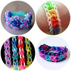 Cool rainbow loom bracelet ideas I've never seen before