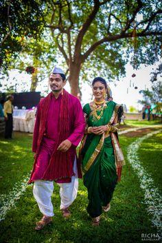 IT'S PG'LICIOUS — #maharashtrian wedding #marathibride copyright...