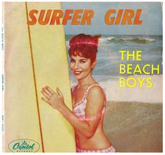 The Beach Boys - Surfer Girl EP // Capitol Records, Australia, 1963 (Front) //
