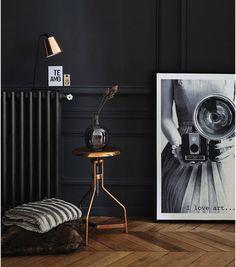 luminaire cuivre nouveauté lampe tabouret Maison du monde - Le blog déco de MLC