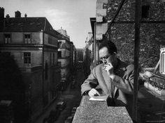 Albert Camus Vivez au bord des larmes