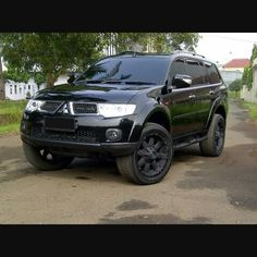 Pajero sport modification