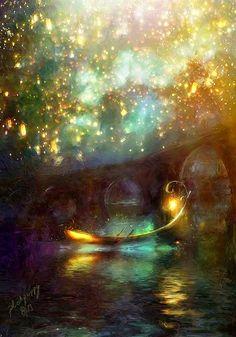 .floating lights