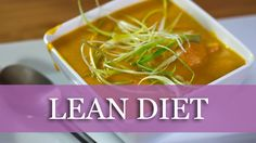 Carrot Ginger Chicken Soup Recipe - Lean Diet!