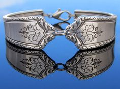 Sp pretty!! Spoon Bracelet (Small) Art Deco Pageant Silverware Jewelry