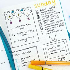 Sundays spread