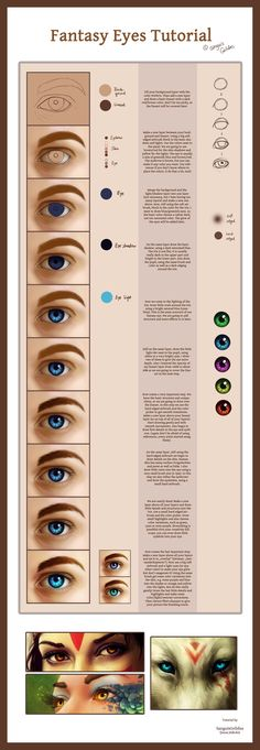 Fantasy Eyes Tutorial by sanguisGelidus.deviantart.com on @deviantART