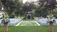 Perrys Landing ......ceremony in the Pecan Orchard