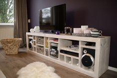 Steigerhout Tv Meubel White Wash.123 Best Steigerhouten Tv Kasten Images Home Decor Home Furniture