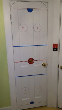 Chicago Blackhawks hockey rink door!